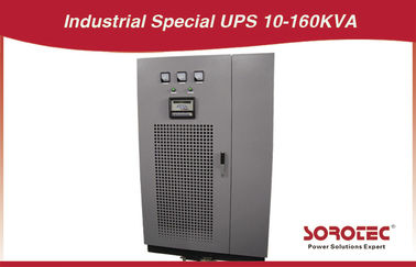 China armário industrial de UPS da categoria 50KVA/40KW de 220V com painel da C.C. distribuidor
